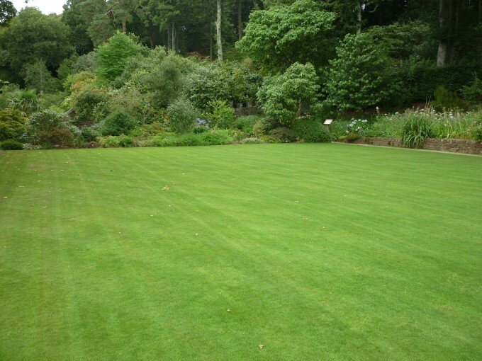 The Croquet lawn at RHS Rosemoor